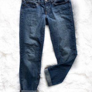 Gap boyfriend crop denim jeans size 10